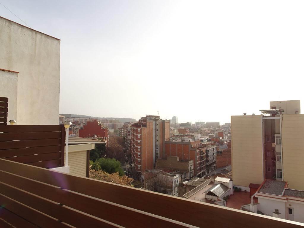 terraza de atico en hospitalet