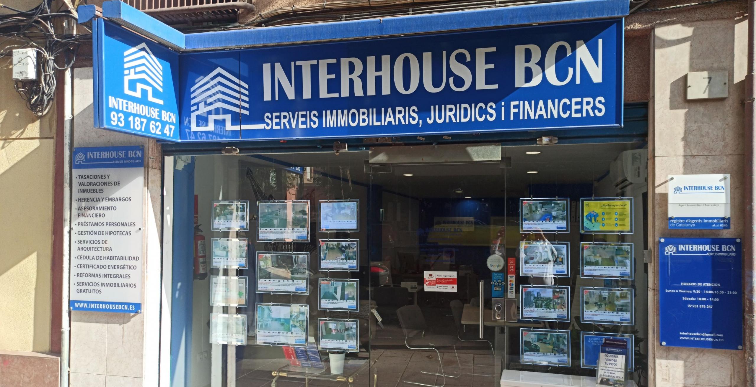INTERHOUSE BCN, Inmobiliaria Hospitalet de Llobregat, Compra Venta, Alquiler de Pisos