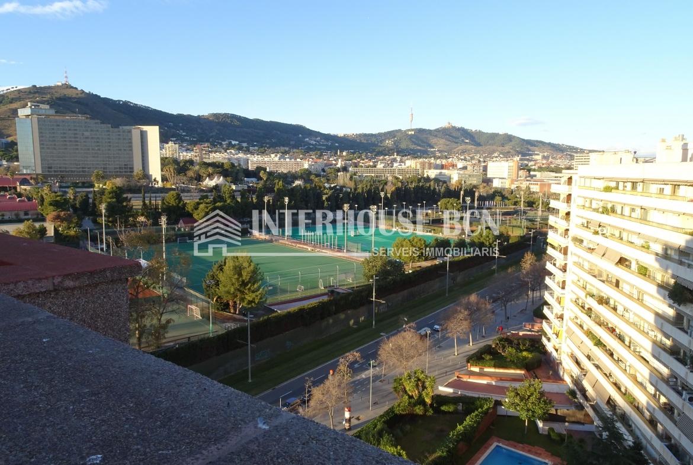 Penhouse atico con terraza en les corts barcelona