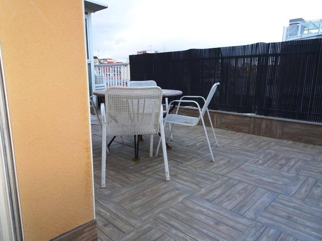 atico con terraza alquiler en santa eulalia hospitalet de llobregat